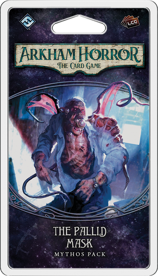 Arkham Horror Lcg: The Pallid Mask Mythos Pack Box Front