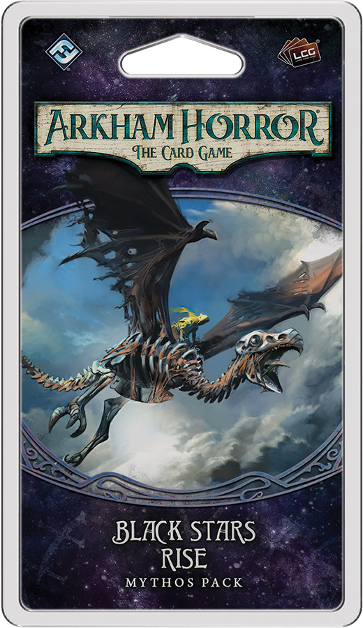 Arkham Horror Lcg: Black Stars Rise Mythos Pack Box Front