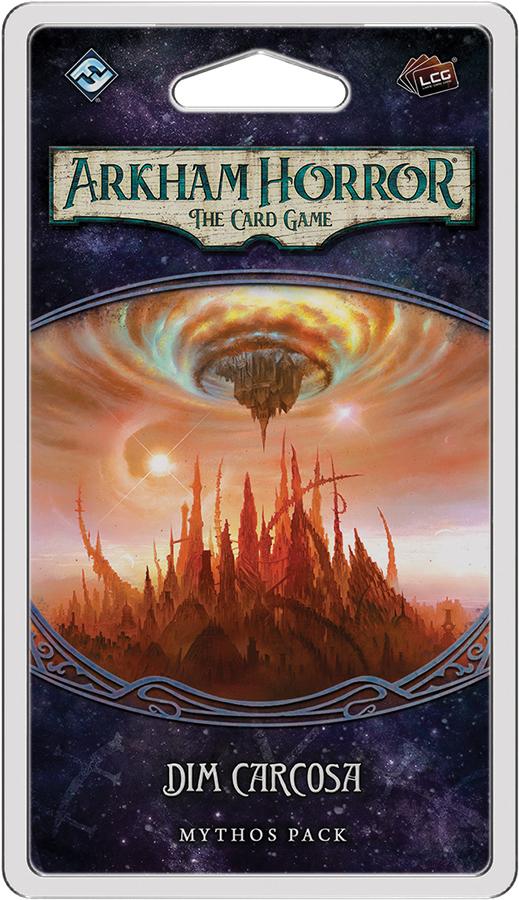 Arkham Horror Lcg: Dim Carcosa Mythos Pack Box Front