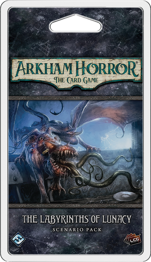 Arkham Horror Lcg: The Labyrinths Of Lunacy Scenario Pack Box Front