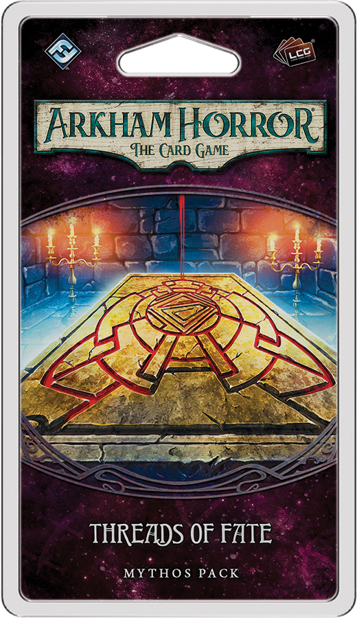 Arkham Horror Lcg: Threads Of Fate Mythos Pack Box Front