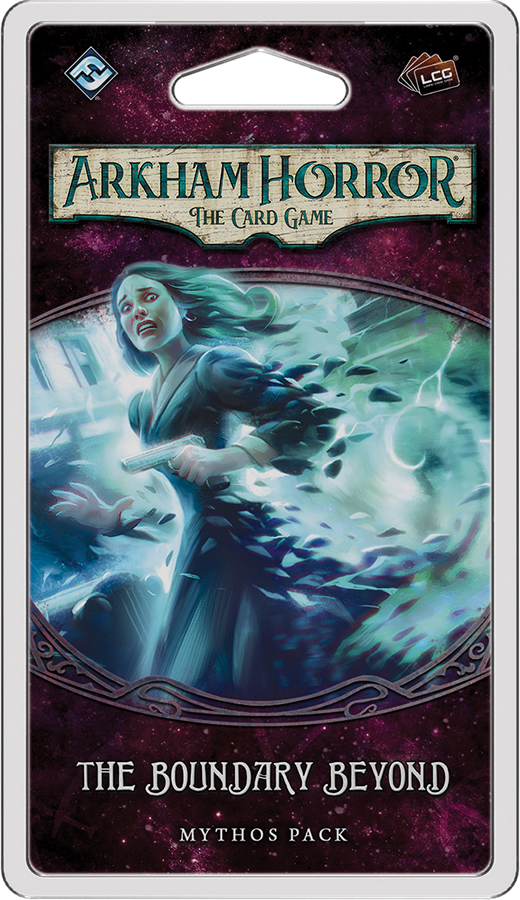 Arkham Horror Lcg: The Boundary Beyond Mythos Pack Box Front