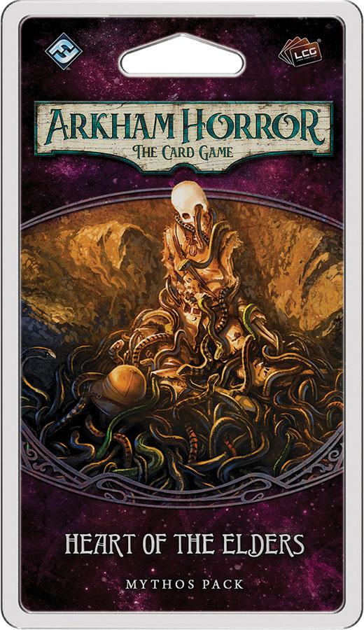 Arkham Horror Lcg: Heart Of The Elders Mythos Pack Box Front