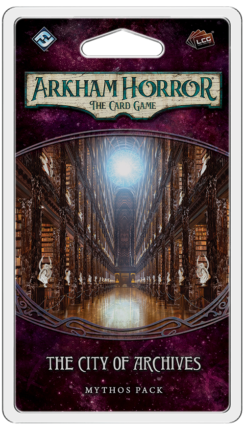 Arkham Horror Lcg: The City Of Archives Mythos Pack Box Front