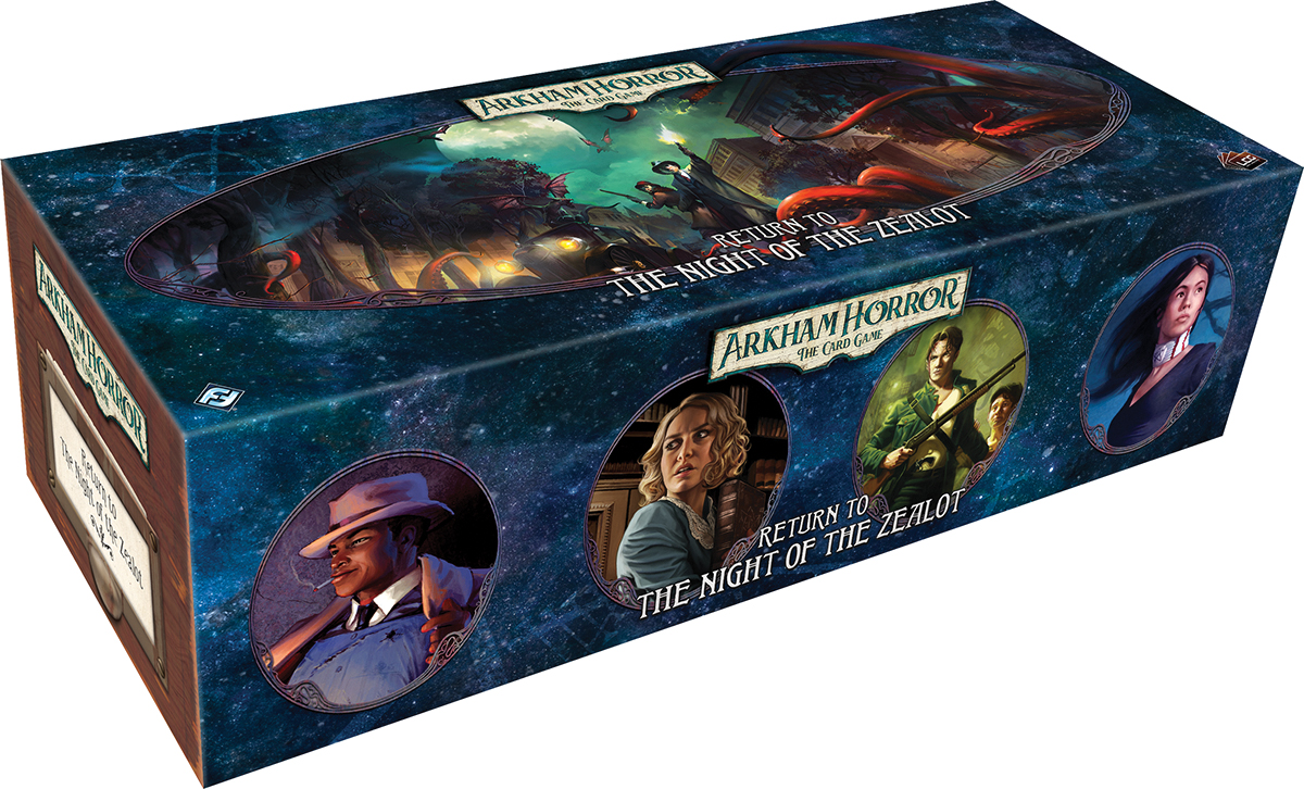 Arkham Horror Lcg: Return Of The Night Of The Zealot Expansion Box Front