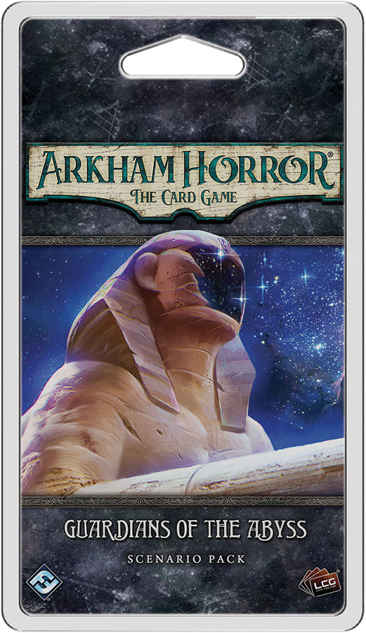 Arkham Horror Lcg: Guardians Of The Abyss Scenario Pack Game Box