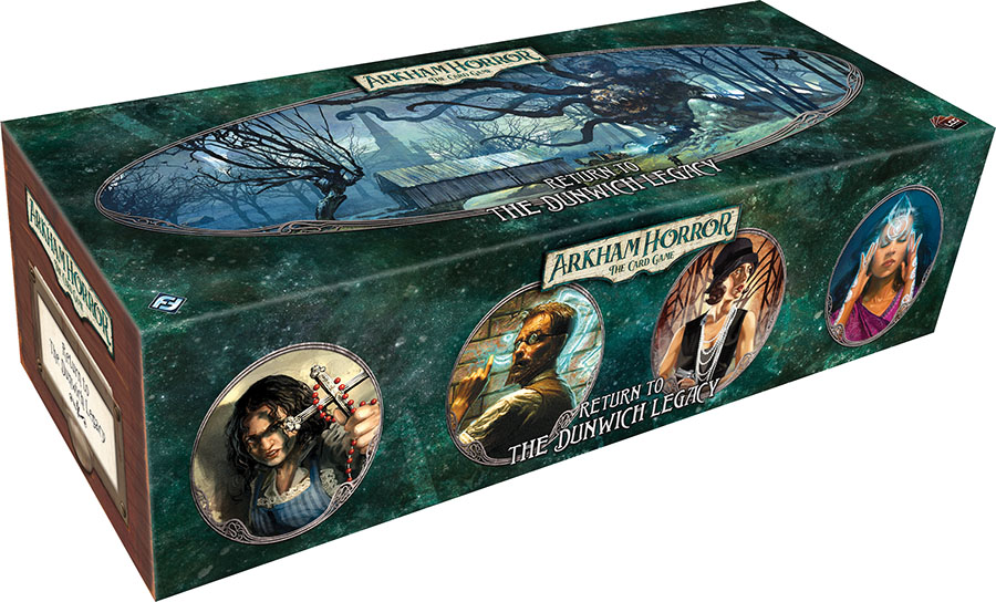 Arkham Horror Lcg: Return To The Dunwich Legacy Expansion Game Box