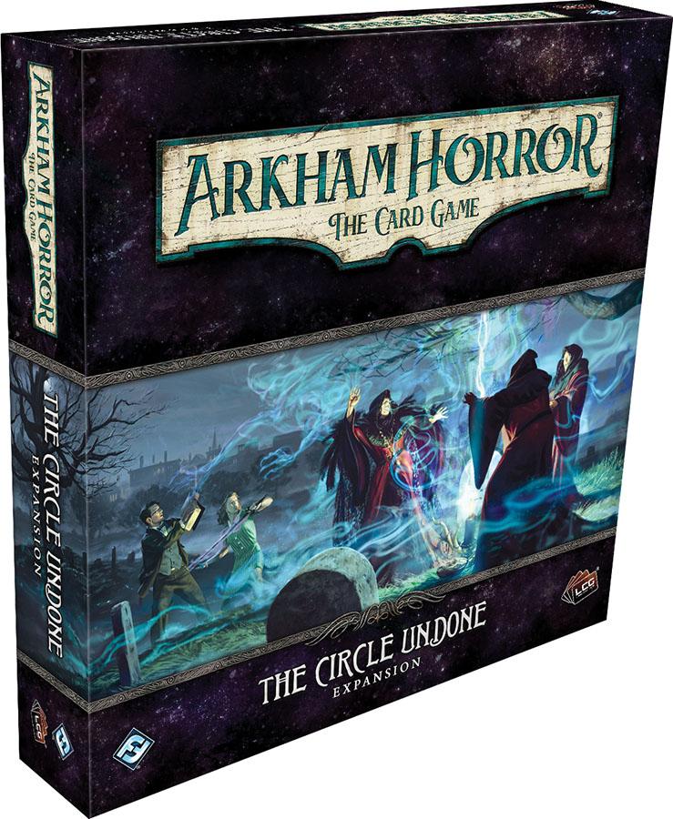 Arkham Horror Lcg: The Circle Undone Expansion Game Box