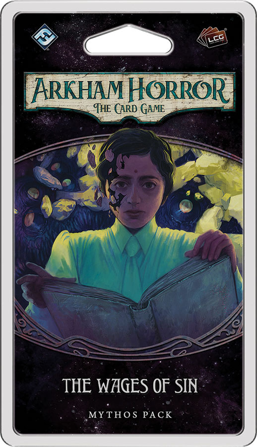 Arkham Horror Lcg: The Wages Of Sin Mythos Pack Game Box