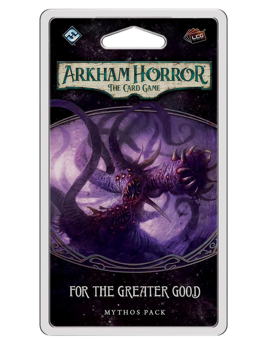 Arkham Horror Lcg: For The Greater Good Mythos Pack Game Box