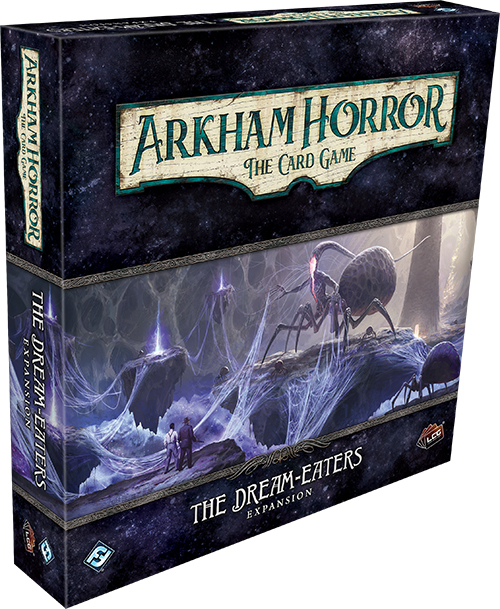 Arkham Horror Lcg: The Dream-eaters Expansion Game Box