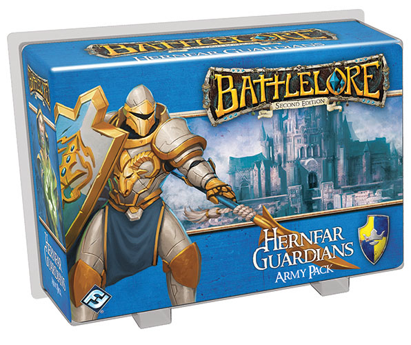 Battlelore Second Edition: Hernfar Guardians Army Pack Box Front