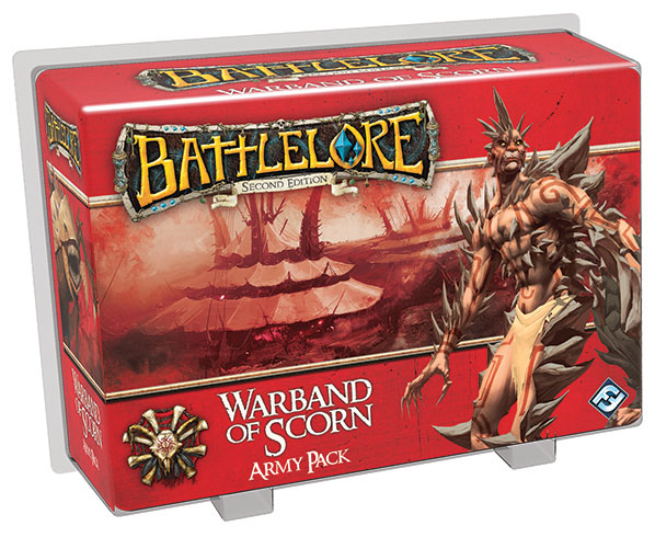 Battlelore Second Edition: Warband Of Scorn Army Pack Box Front