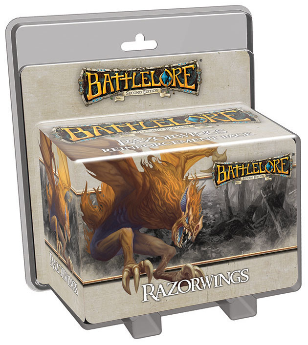Battlelore Second Edition: Razorwings Reinforcement Pack Box Front