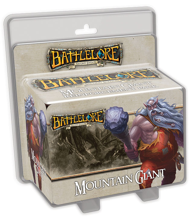 Battlelore Second Edition: Mountain Giant Reinforcement Pack Box Front
