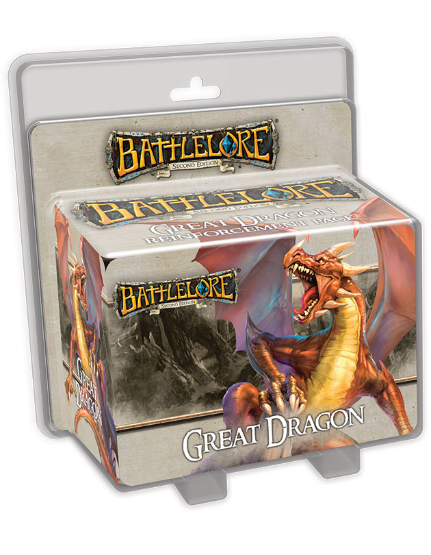 Battlelore Second Edition: Great Dragon Reinforcement Pack Box Front