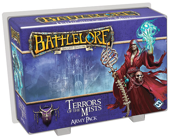 Battlelore Second Edition: Terrors Of The Mist Army Pack Box Front