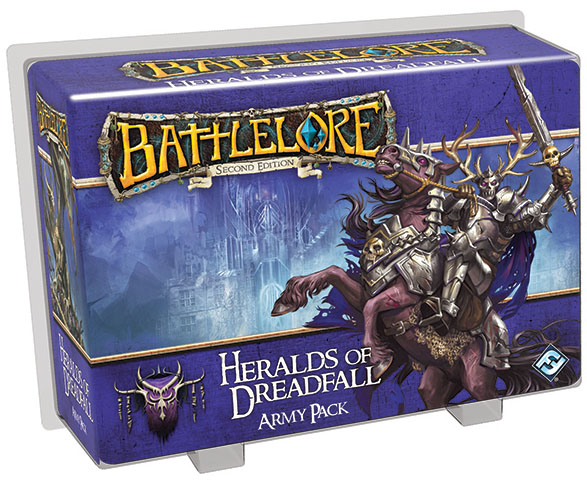 Battlelore Second Edition: Heralds Of Dreadfall Army Pack Box Front
