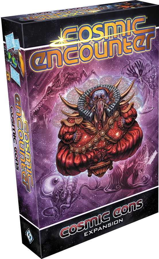 Cosmic Encounter: Cosmic Eons Expansion Box Front