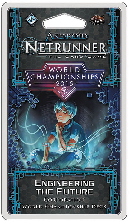 Android Netrunner Lcg: 2015 World Champion Corp Deck Box Front