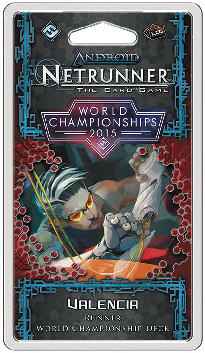 Android Netrunner Lcg: 2015 World Champion Runner Deck Box Front