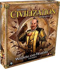 Civilization: Wisdom And Warfare Expansion Box Front