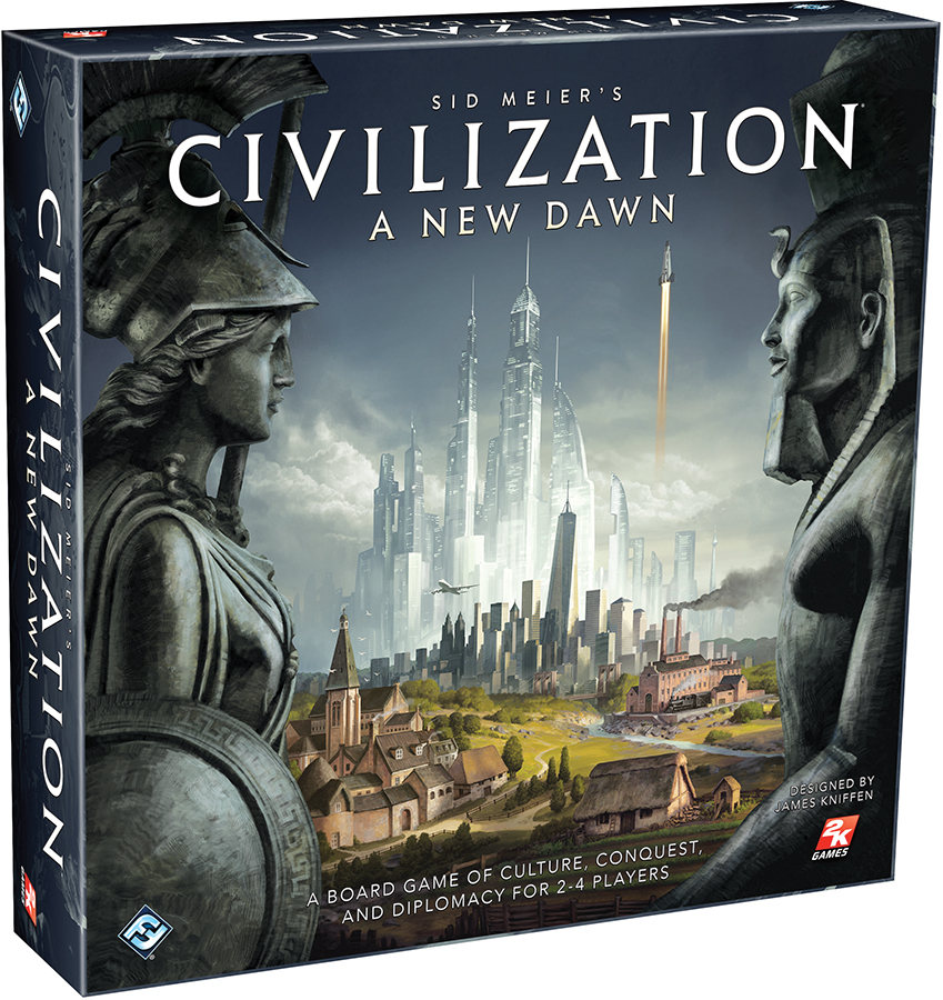 Civilization: A New Dawn Box Front