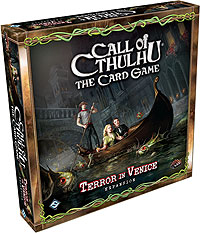 Call Of Cthulhu Lcg: Terror In Venice Deluxe Expansion Box Front