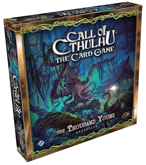 Call Of Cthulhu Lcg: The Thousand Young Deluxe Expansion Box Front