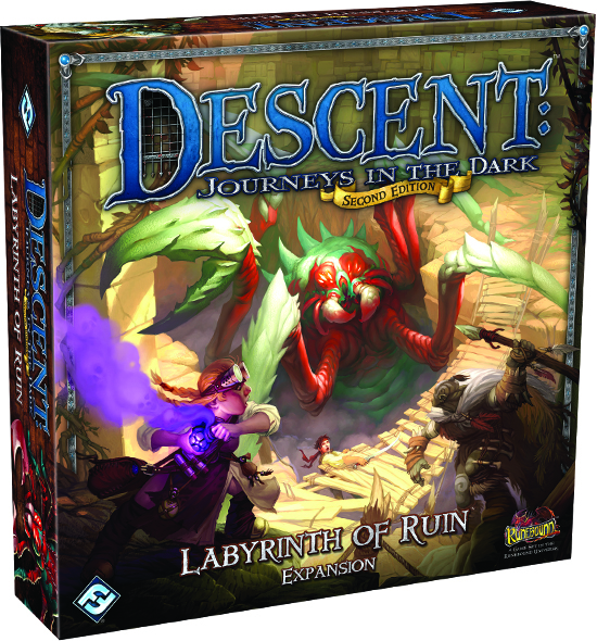 Descent Journeys In The Dark 2nd Edition: Labyrinth Of Ruin Expansion Box Front