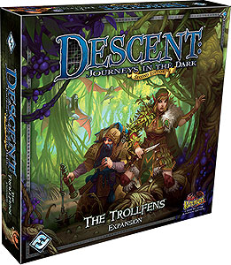 Descent Journeys In The Dark 2nd Edition: The Trollfens Expansion Box Front