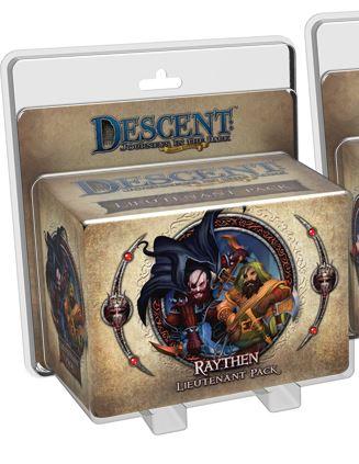 Descent Journeys In The Dark 2nd Edition: Raythen Lieutenant Pack Box Front