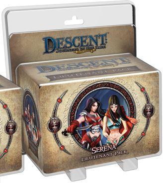 Descent Journeys In The Dark 2nd Edition: Serena Lieutenant Pack Box Front
