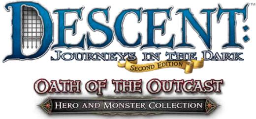 Descent Journeys In The Dark 2nd Edition: Oath Of The Outcast Expansion Box Front