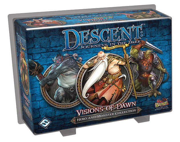 Descent Journeys In The Dark 2nd Edition: Visions Of Dawn Hero And Monster Collection Box Front