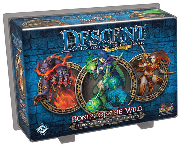 Descent Journeys In The Dark 2nd Edition: Bonds Of The Wild Hero And Monster Collection Box Front