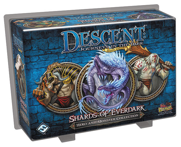 Descent Journeys In The Dark 2nd Edition: Shards Of Everdark Hero And Monster Collection Box Front