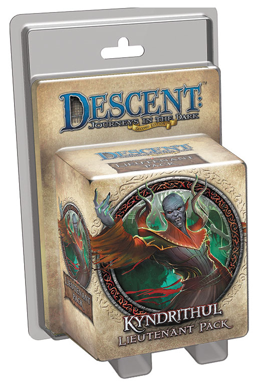 Descent Journeys In The Dark 2nd Edition: Kyndrithul Lieutenant Pack Box Front
