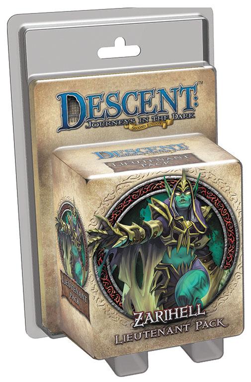 Descent Journeys In The Dark 2nd Edition: Zarihell Lieutenant Pack Box Front