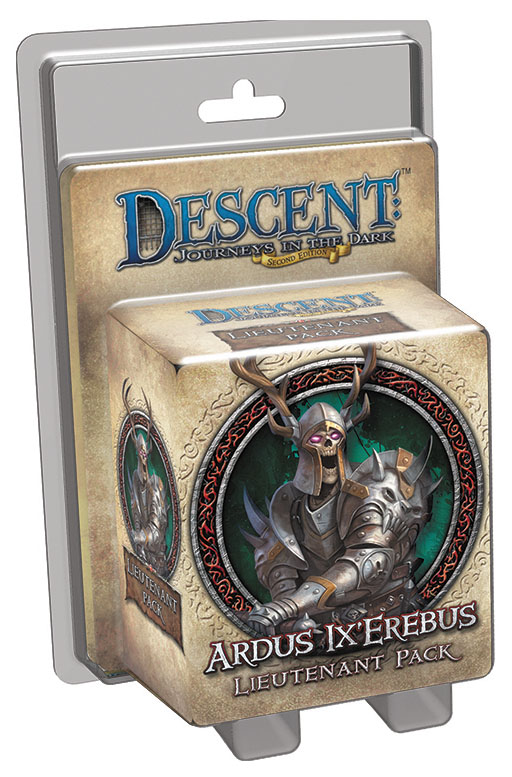 Descent Journeys In The Dark 2nd Edition: Ardus Ix`erebus Lieutenant Pack Box Front