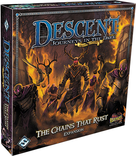 Descent Journeys In The Dark 2nd Edition: The Chains That Rust Expansion Box Front
