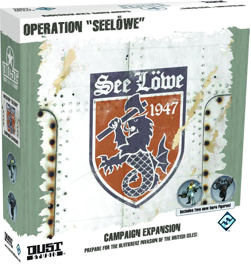 Dust Tactics: Operation Seelowe Game Box