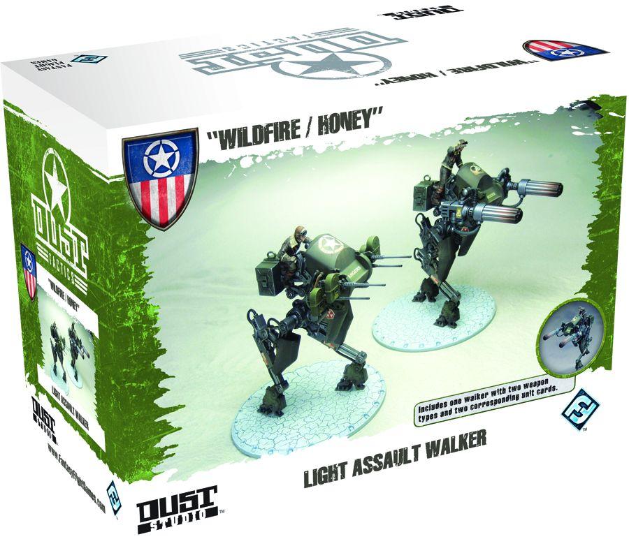 Dust Tactics: Light Assualt Walker Box Front