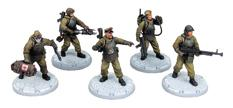 Dust Tactics: Ssu Command Squad Box Front