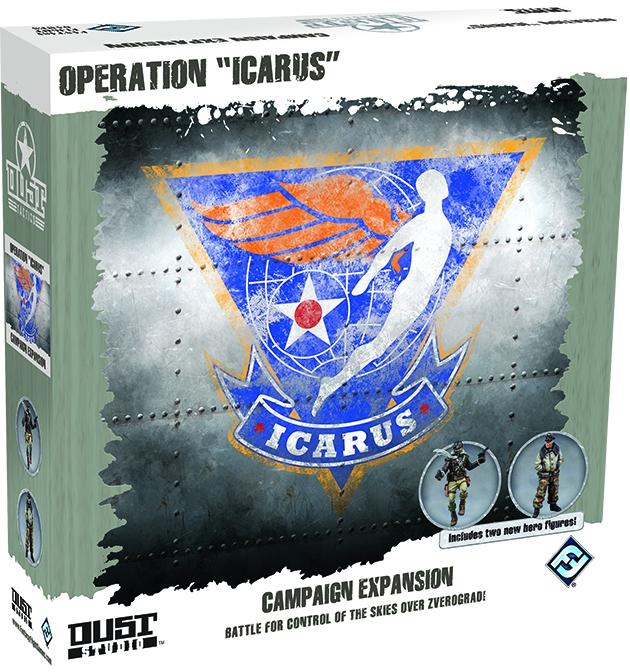 Dust Tactics: Operation Icarus Box Front