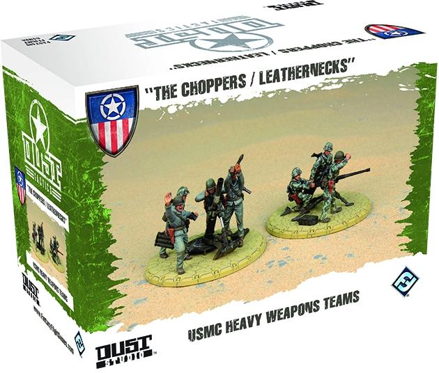 Dust Tactics: Usmc Heavy Weapons Teams Box Front