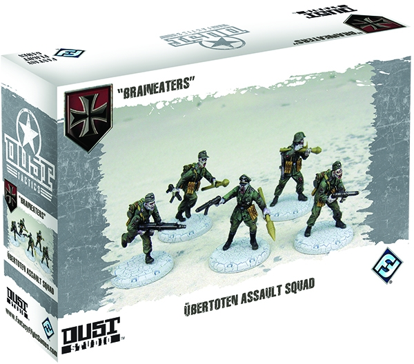 Dust Tactics: Axis Ubertoten Assault Squad Box Front