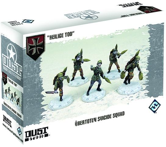 Dust Tactics: Axis Ubertoten Suicide Squad Box Front