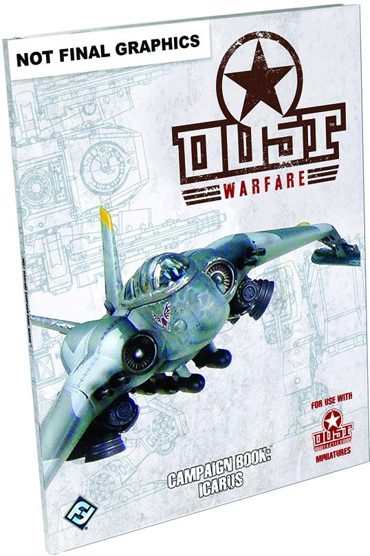 Dust Warfare: Campaign Book Icarus Box Front