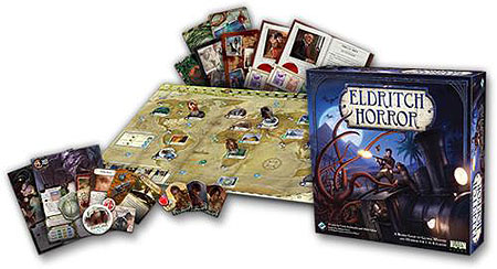 Eldritch Horror: Core Game Box Front